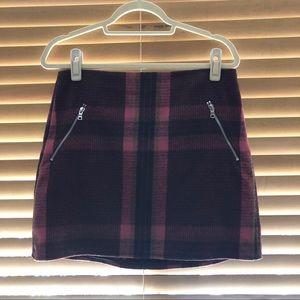 Gap Plaid Mini Skirt